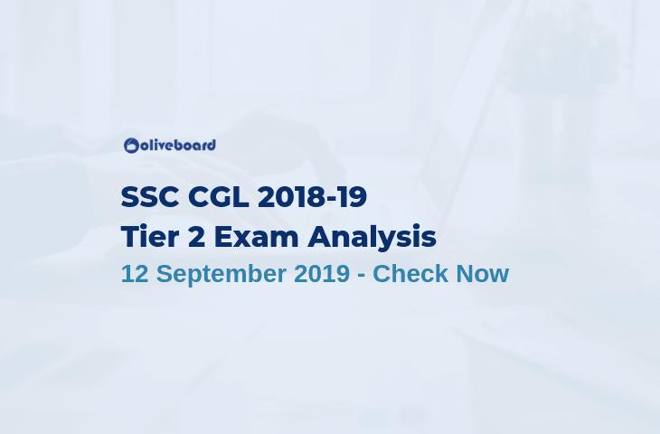 SSC CGL Tier 2 Exam analysis 2019