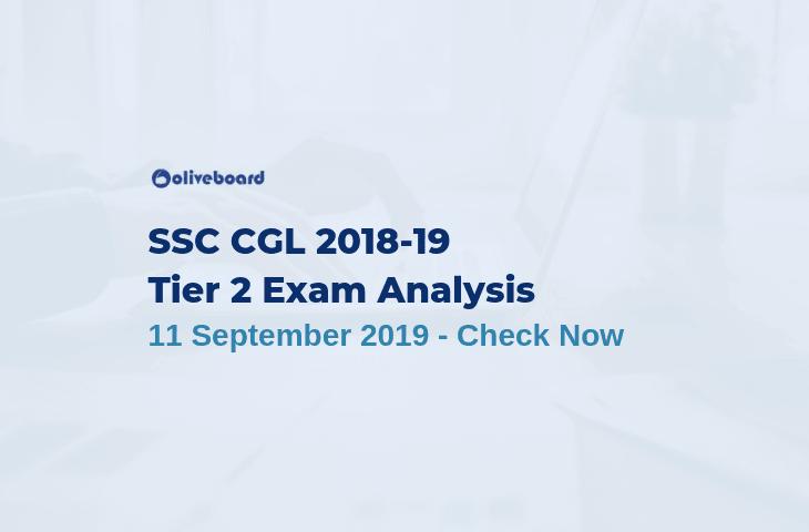 SSC CGL Tier 2 Exam Analysis