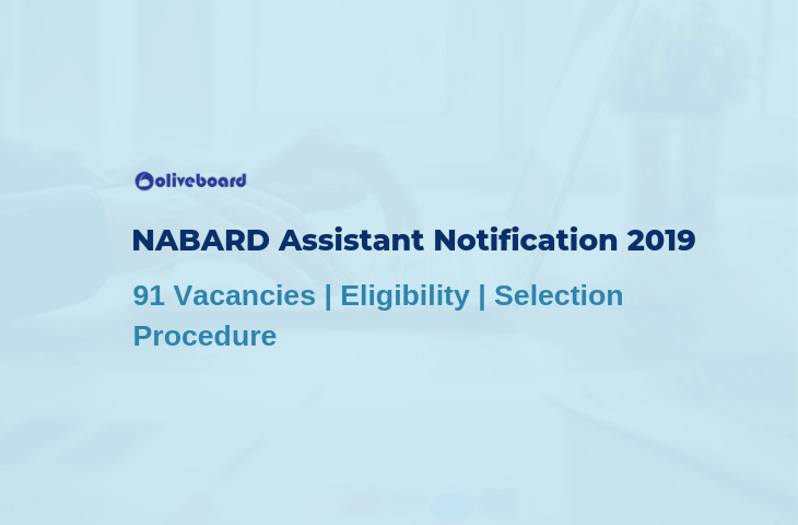 NABARD Assistant Notification 2019