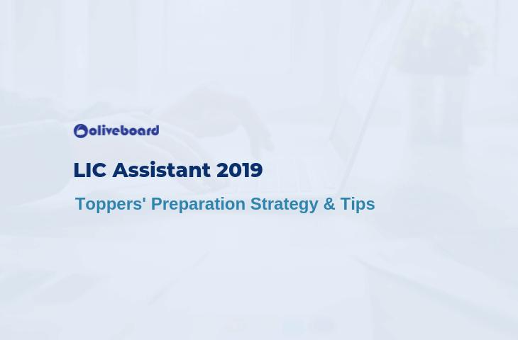 LIC Assistant Preparation 2019