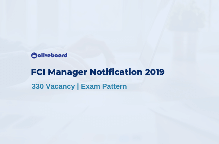 FCI Notification 2019