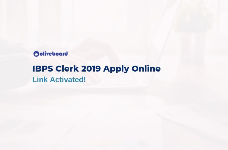 ibps clerk 2019 apply online