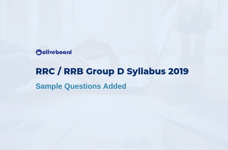 rrc group d syllabus 2019