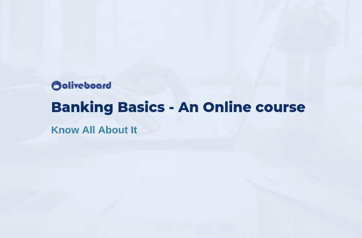 basics of banking and finance