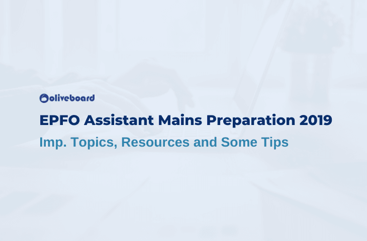 EPFO Assistant Mains Preparation
