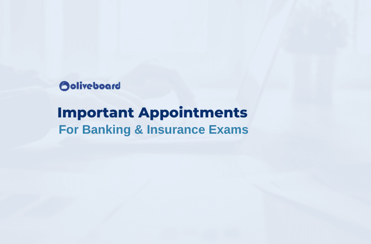 Latest Important Appointments 2019