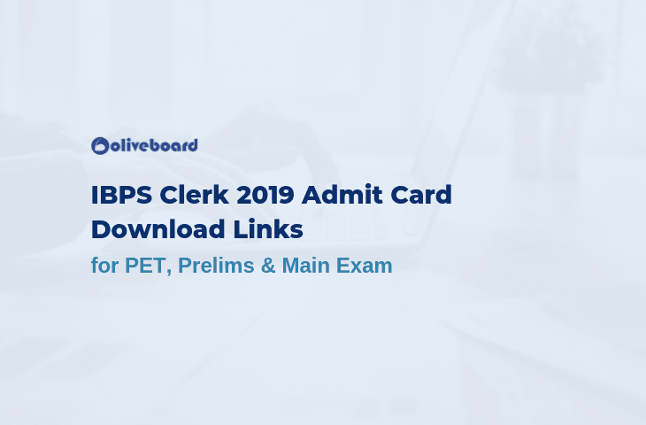 IBPS Clerk 2019 Admit Card