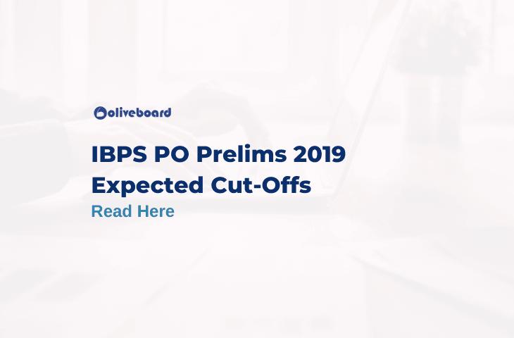 IBPS PO 2019 Expected Cutoff