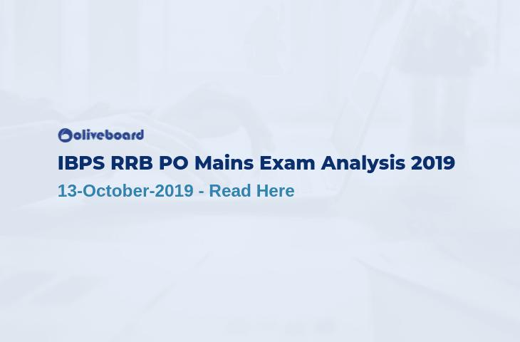 IBPS RRB PO Mains Exam Analysis 2019