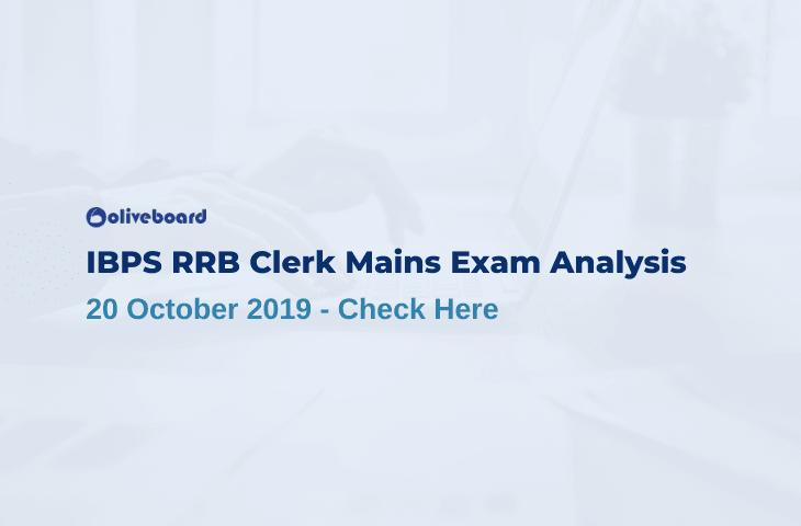IBPS RRB Clerk Mains Exam Analysis