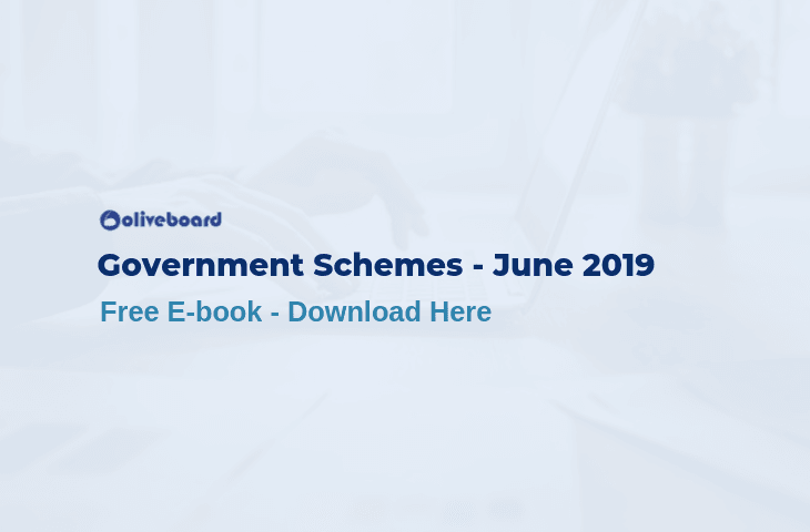 Important Government Schemes June 2019
