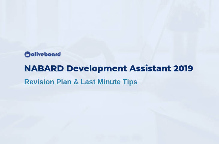 NABARD Development Assistant Revision Plan 2019