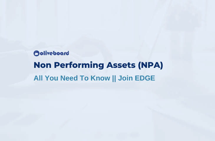 All About Non Performing Assets