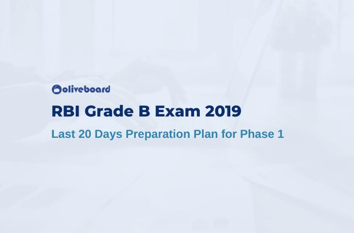 RBI Grade B Last 20 Days Preparation