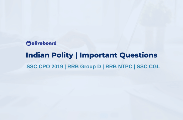 Indian Polity Important Questions