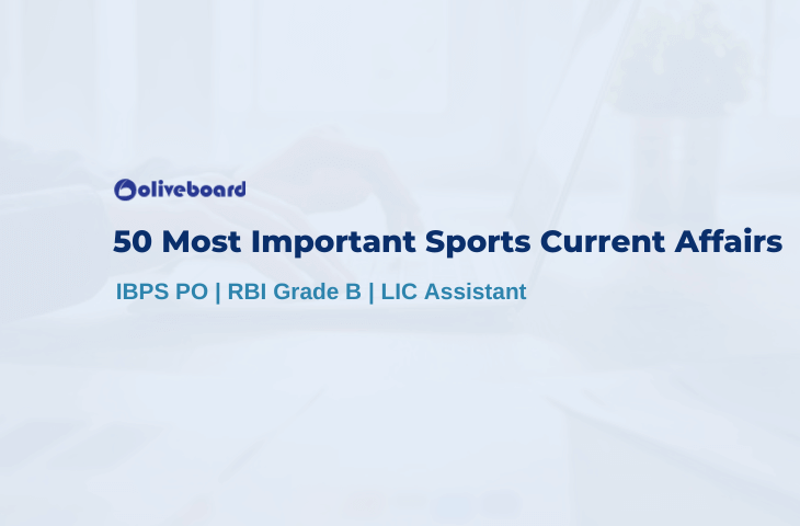 50 Most Important Sports Current Affairs
