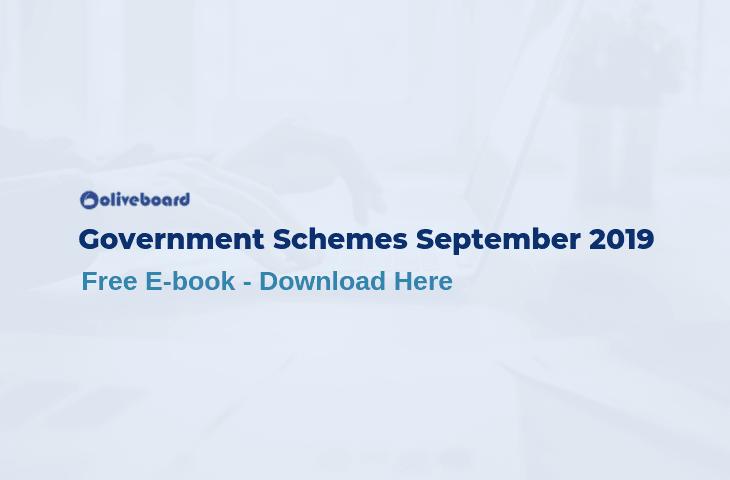 Government Schemes September 2019
