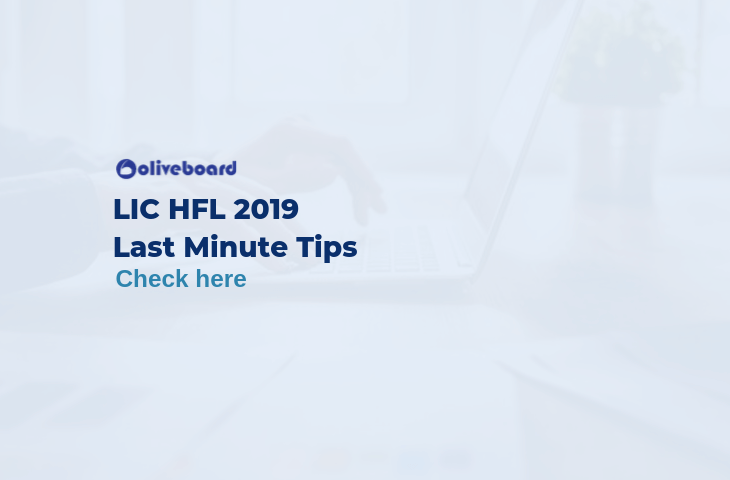 LIC HFL Last Minute Tips