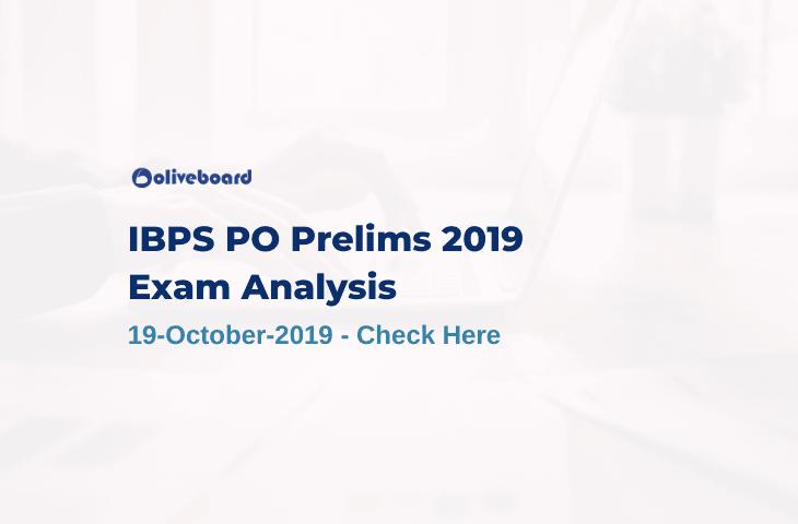 IBPS PO Prelims 2019 Exam Analysis