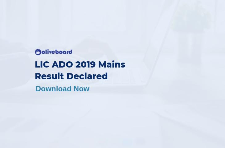 LIC ADO 2019 Mains Result