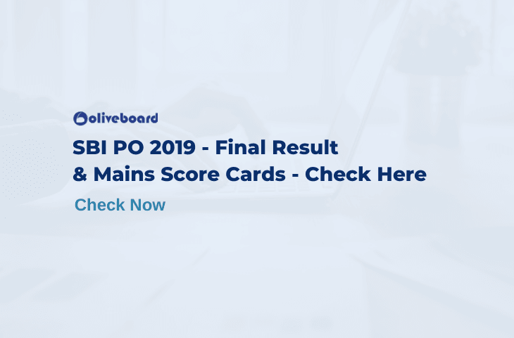 SBI PO Final Result 2019