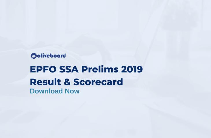 EPFO SSA Result 2019