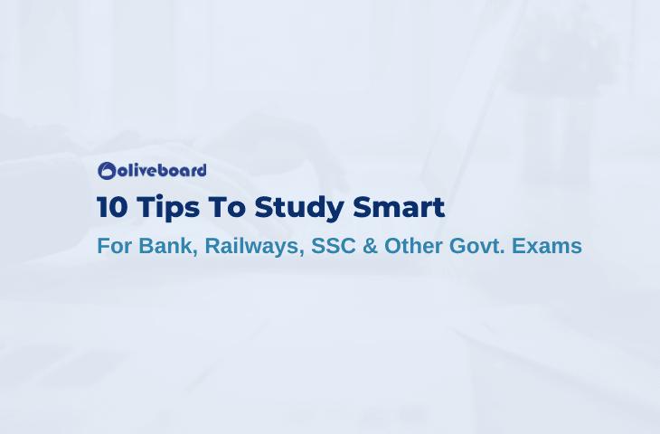 10 Tips To Study Smart
