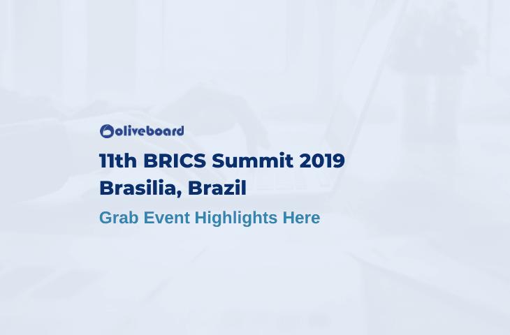 11th BRICS Summit 2019