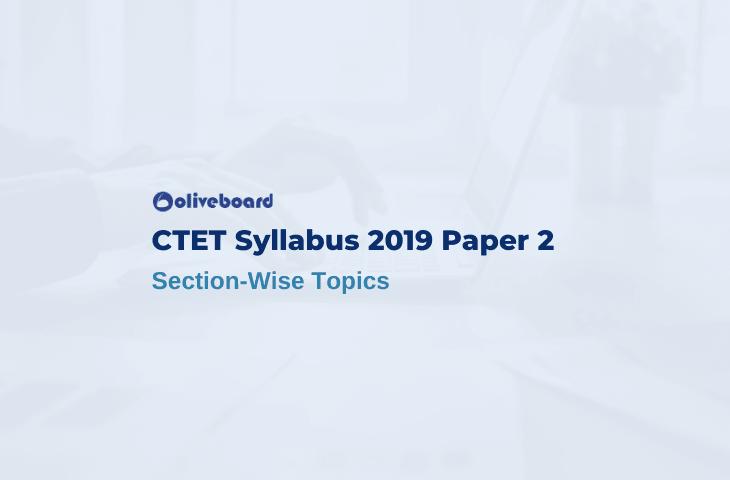 CTET Paper 2 Syllabus 2019