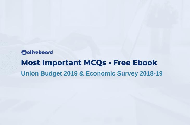 mcq on budget 2019