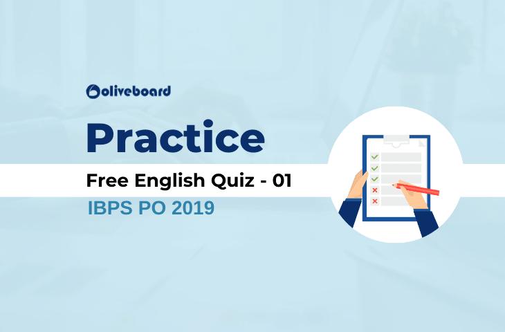 English Free Practice Quiz 01