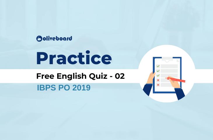 Free English Practice Quiz 02