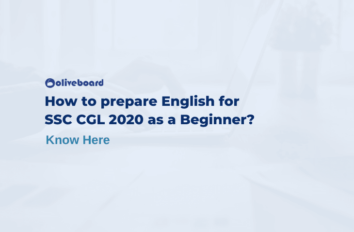 English for SSC CGL 2020