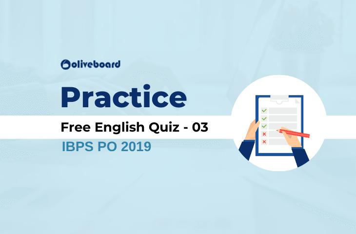 Free English Practice Quiz 03
