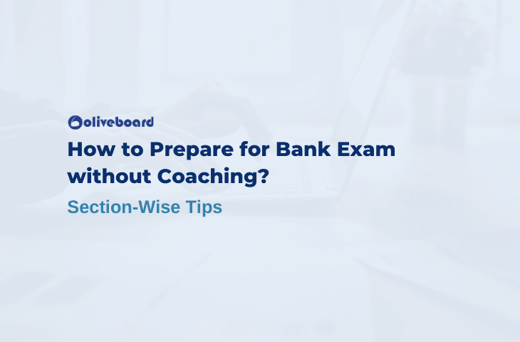 how to prepare for bank exam without coaching