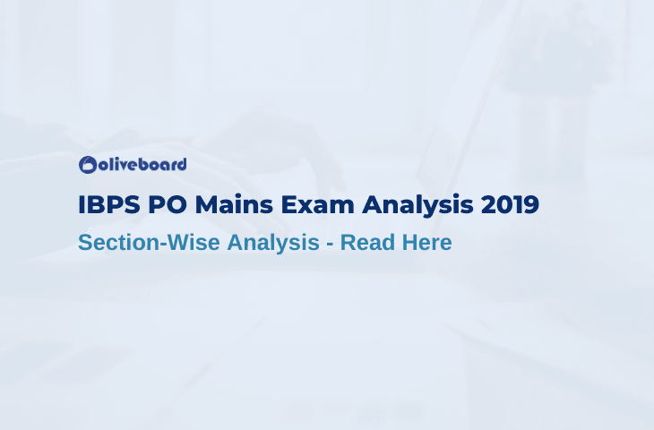 IBPS PO Mains Exam Analysis 2019