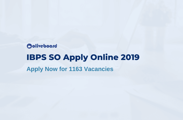 IBPS SO Apply Online