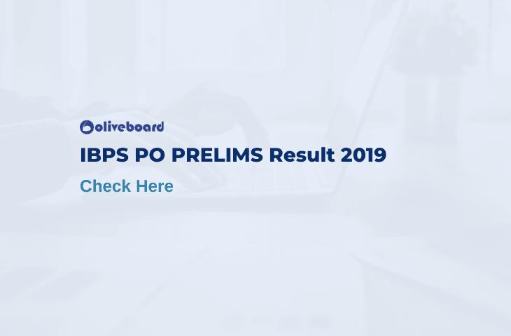 ibps po prelims result 2019