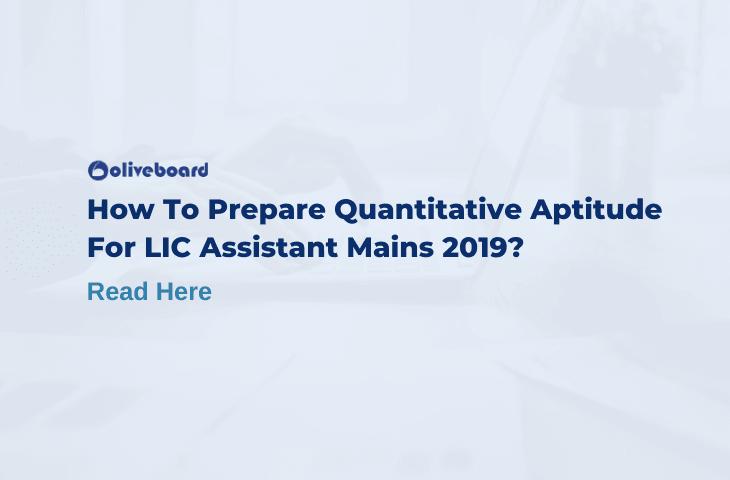 Quantitative Aptitude For LIC Assistant