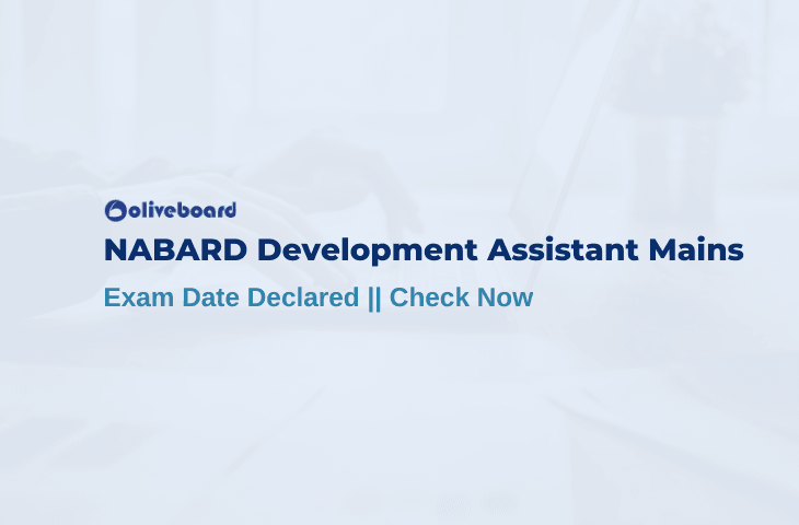 NABARD Assistant Mains Exam Date
