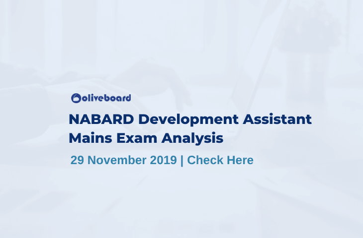 NABARD Development Assistant Mains Exam Analysis 2019
