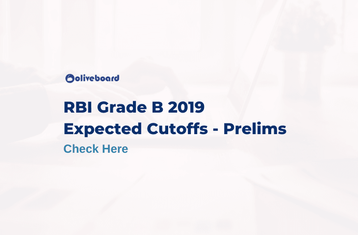 RBI Grade B 2019 Expected Cutoff