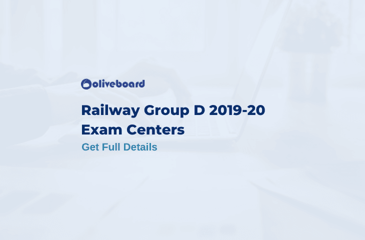 Railway Group D Exam Centers