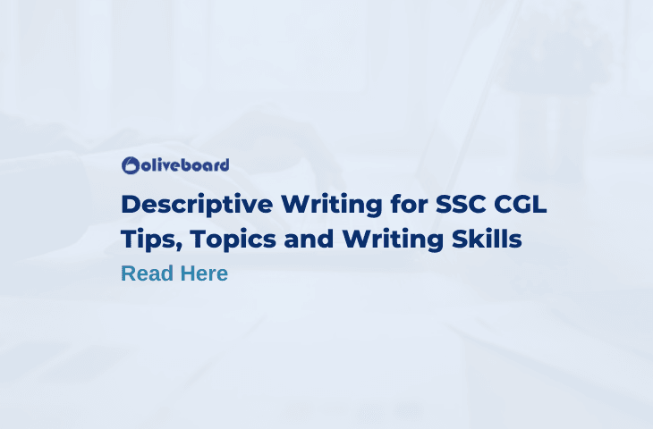 Descriptive Writing For SSC CGL