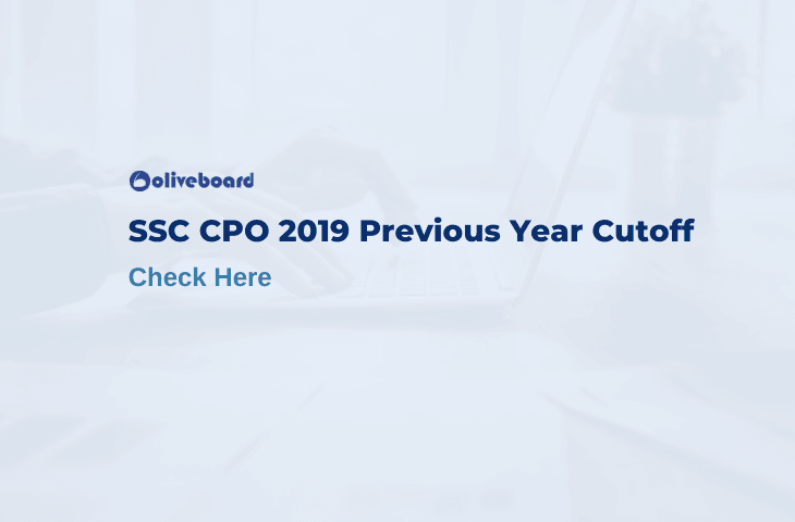 ssc cpo 2019 previous year cut off