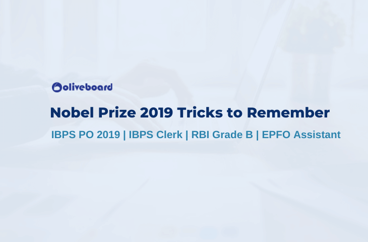 Nobel Prize 2019 Tricks to Remember
