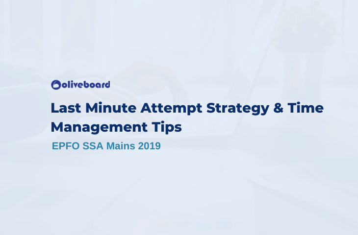 EPFO SSA Mains Last Minute Tips