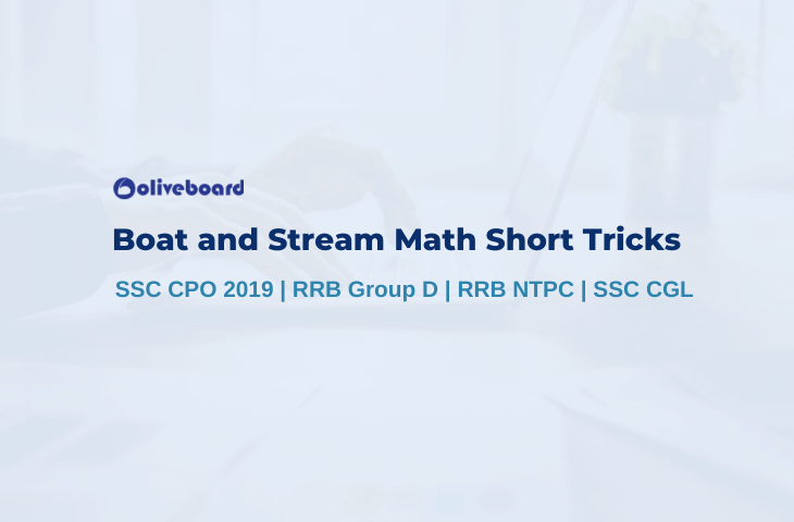 Boat and Stream Math Short Tricks