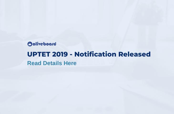 UPTET Online Application 2019