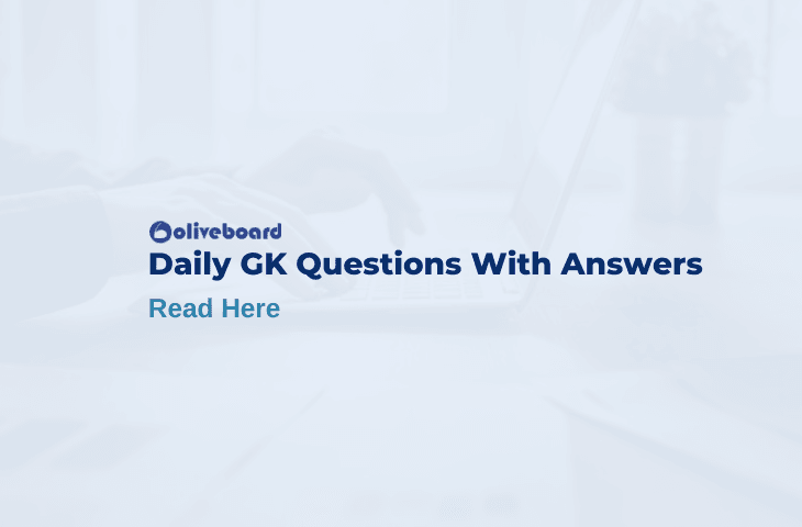 Daily GK Questions With Answers